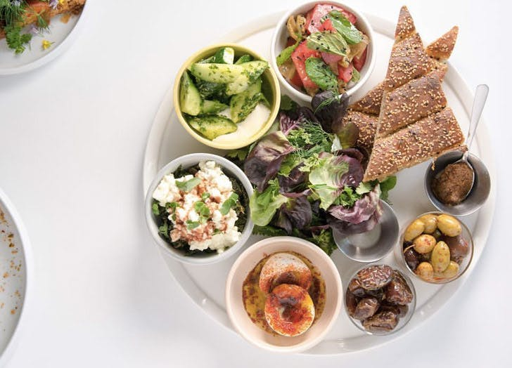 los angeles food trends kismet israeli restaurant