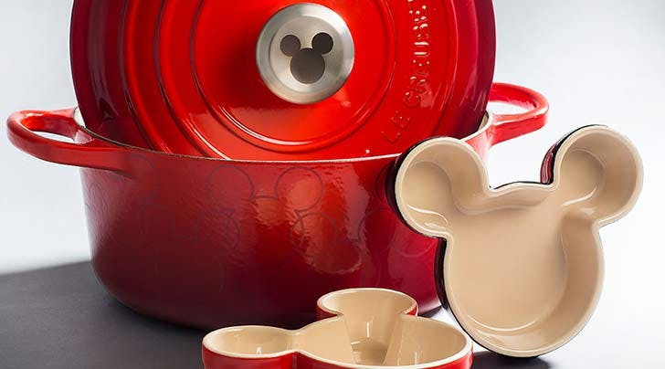 Attention, Disney-Loving Adults: Le Creuset Just Dropped a Mickey Mouse Collection