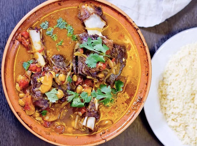 moroccan apricot lamb tagine recipe