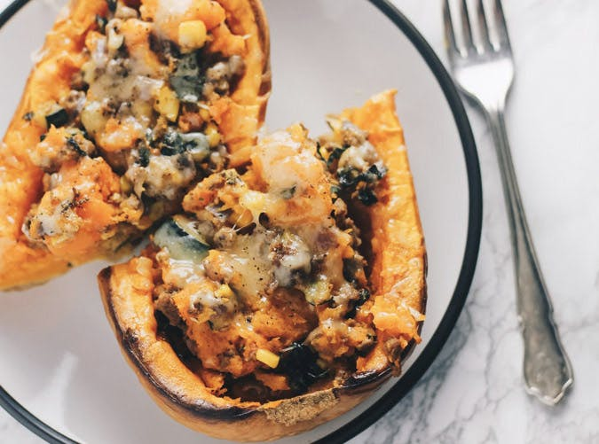 moroccan stuffed squash recipe