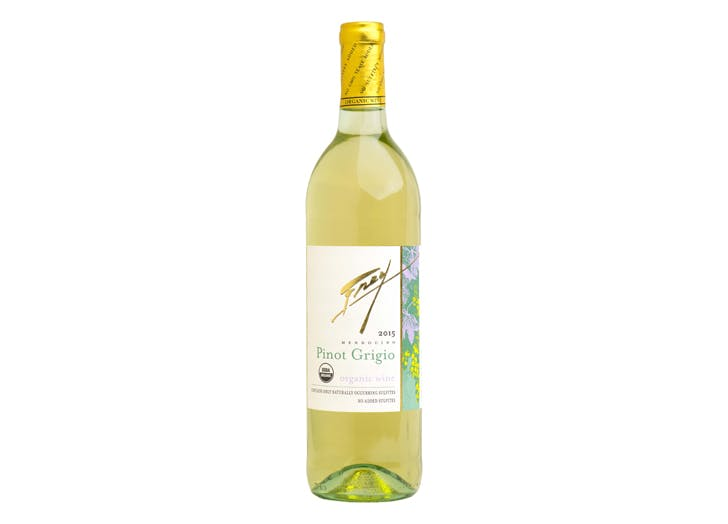 no sulfites added frey vineyards 2015 organic pinot grigio review
