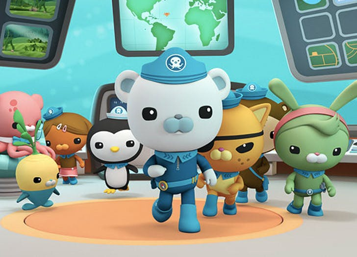 octonauts kids tv show personalities