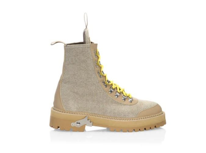 off white combat boots
