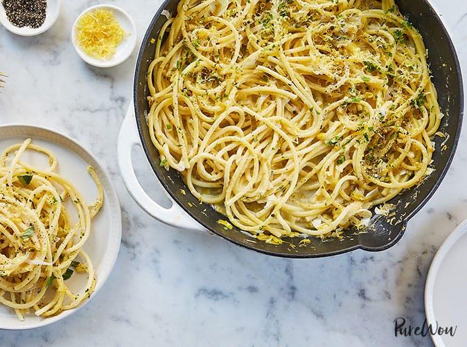 one pot 15 minute pasta limone1