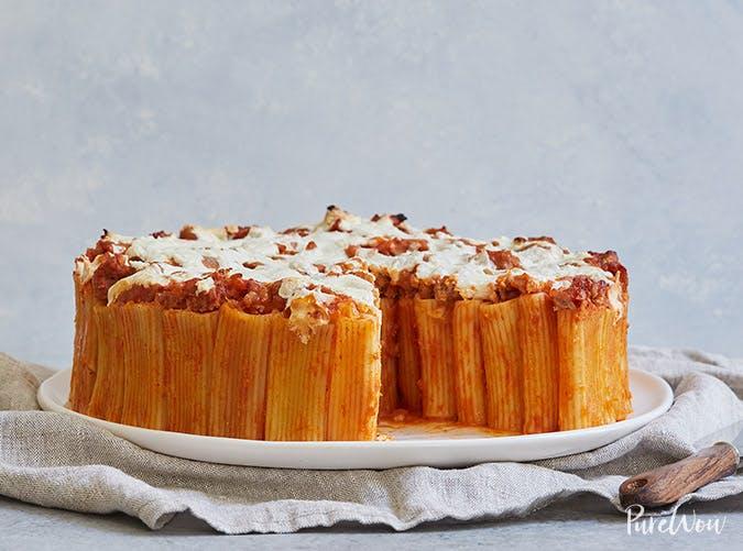pasta bakes rigatoni pie recipe