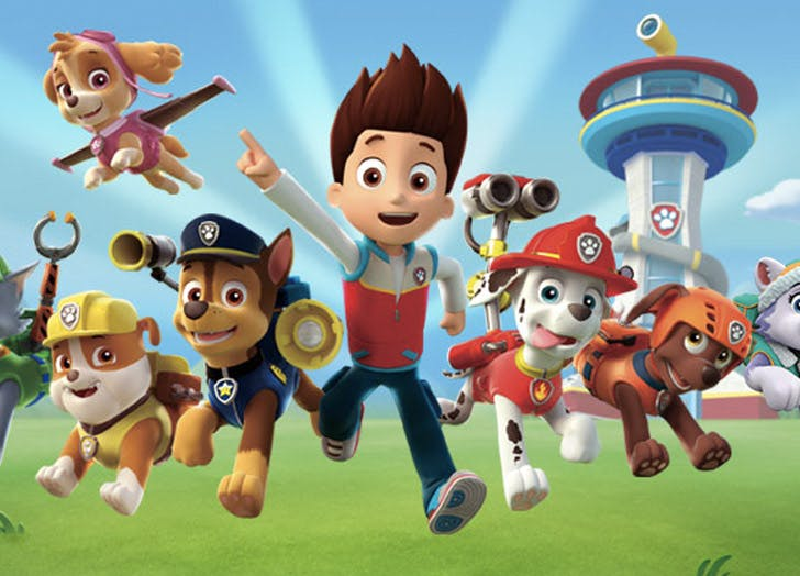 paw patrol kids tv show personalities