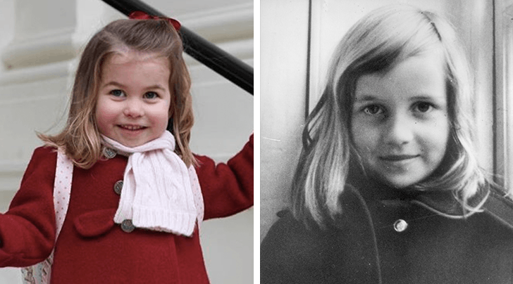 Whoa: Princess Charlotte Looks *Just* Like Princess Diana in Her New School Photos