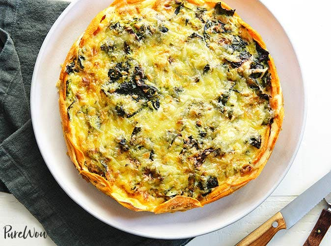 quiche gluten free sweet potato crust