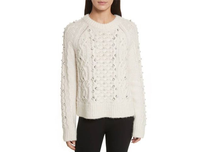 rag and bone embellished sweater