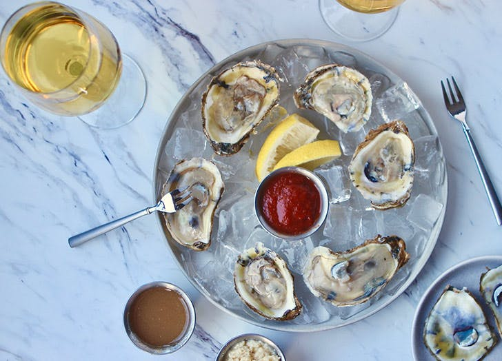 raw oysters magnesium