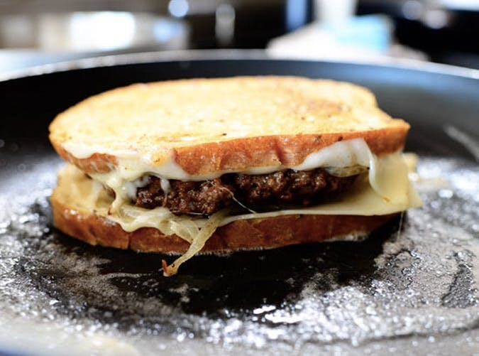 ree Drummond comfort food patty melt recipe