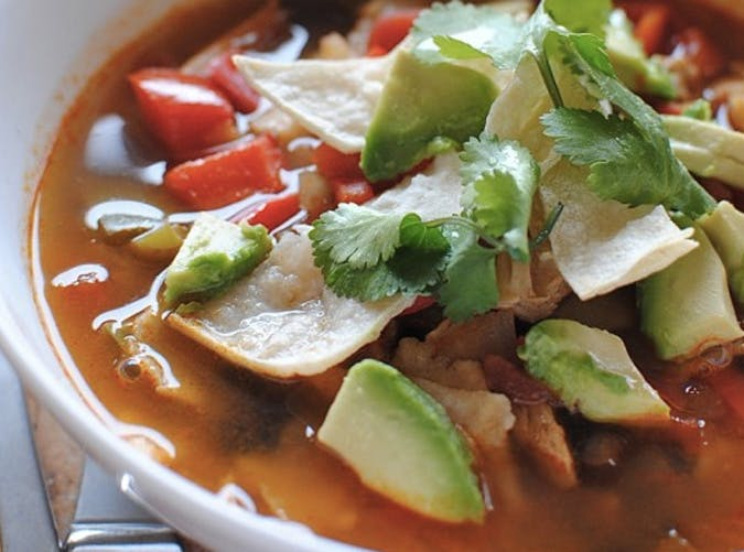 ree drummond comfort food chicken tortilla soup recipe