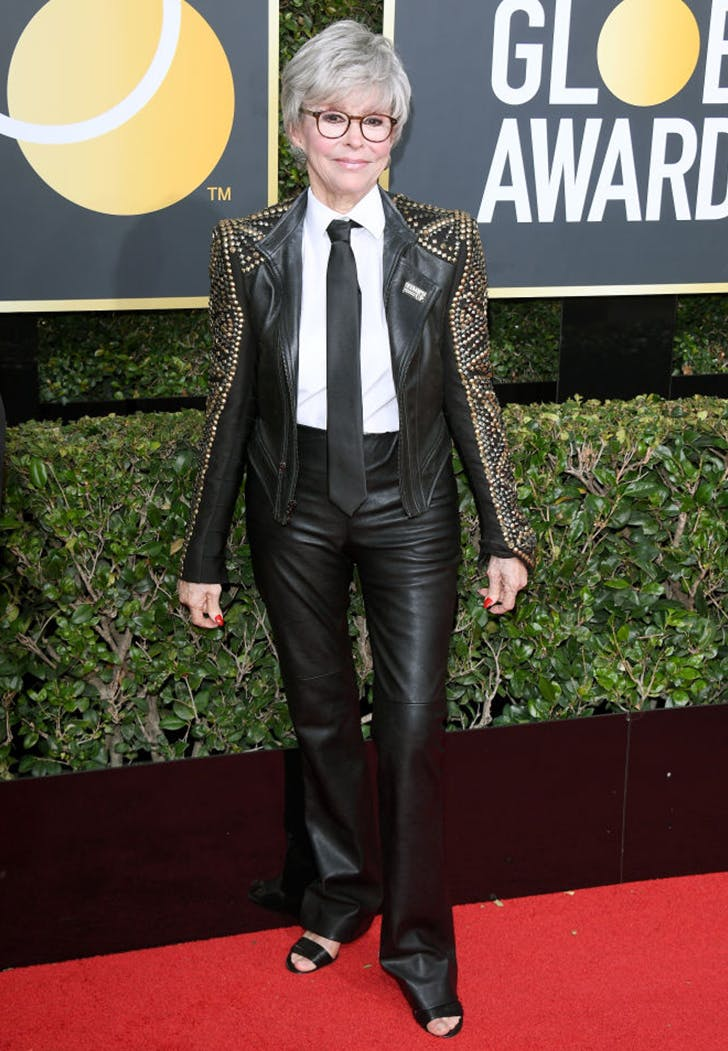 rita moreno wearing pants golden globes