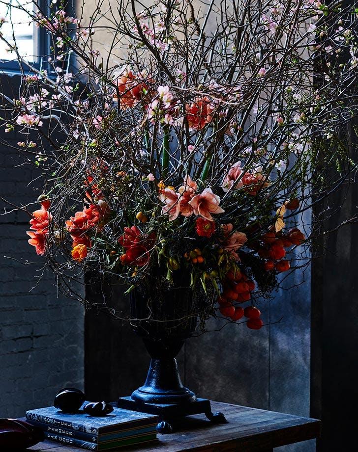 roman and williams guild flower arrangement