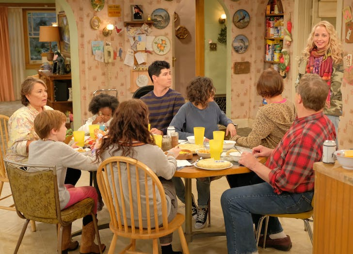 roseanne family first look