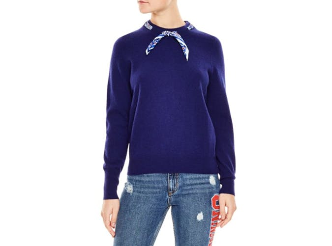 sandro lucke wool and cashmere sweater