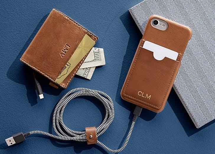 self charging wallet