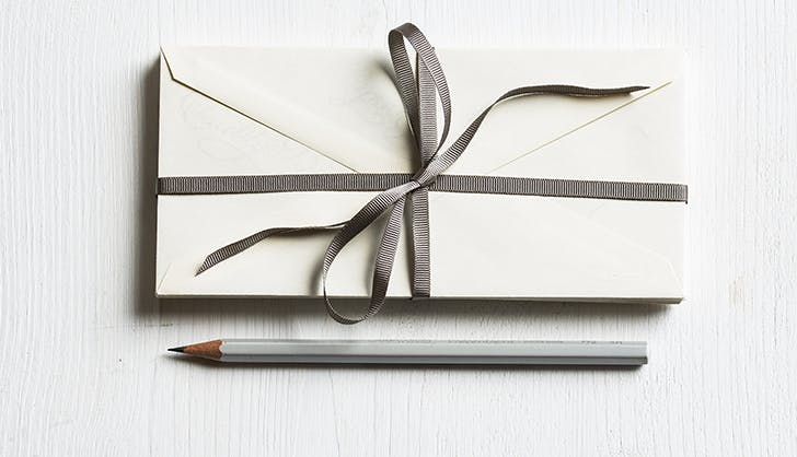 send a thank you letter instead of email houseguest etiquette