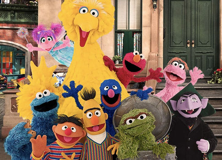 sesame street kids tv show personalities