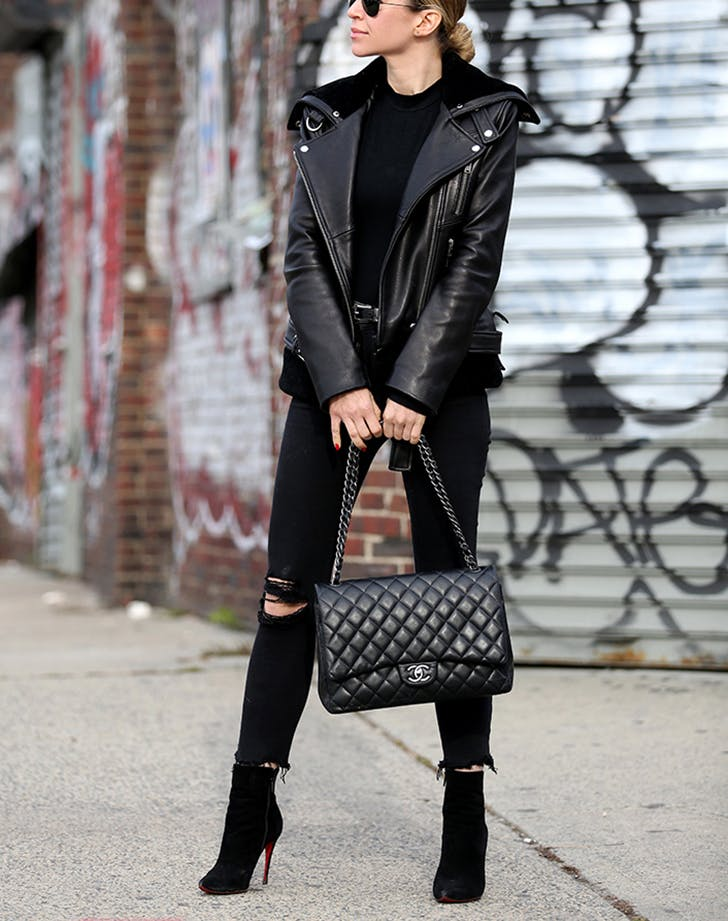 slimming winter outfits brooklyn blonde