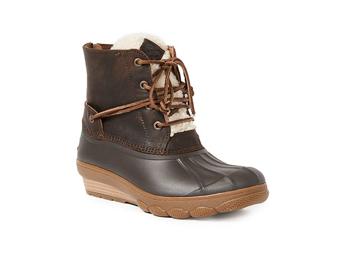 sperry saltwater wedge tide boots