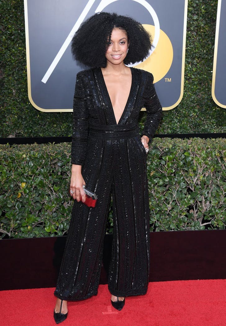 susan watson wearing pants golden globes