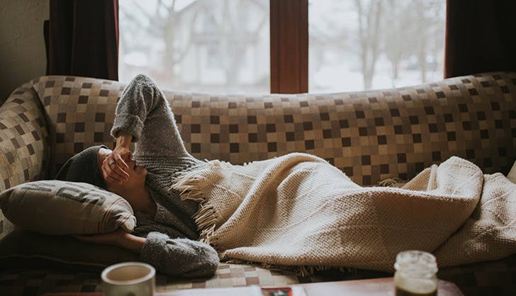 taking a sick day as a stay at home mom