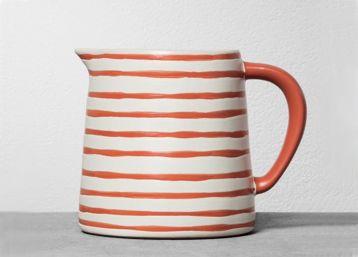 target ceramic pitcher