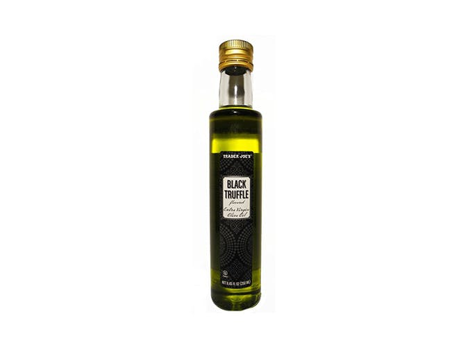 trader joes black truffle flavored extra virgin olive oil