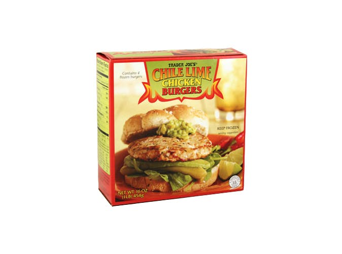 trader joes chili lime chicken burgers