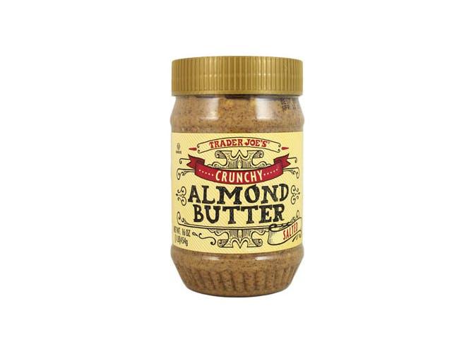 trader joes crunchy almond butter