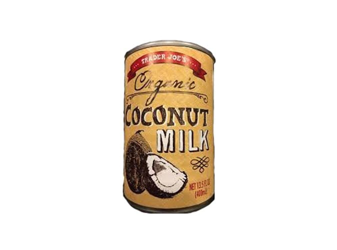 trader joes organic coconut milk