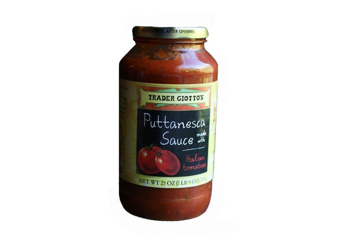 trader joes puttanesca sauce