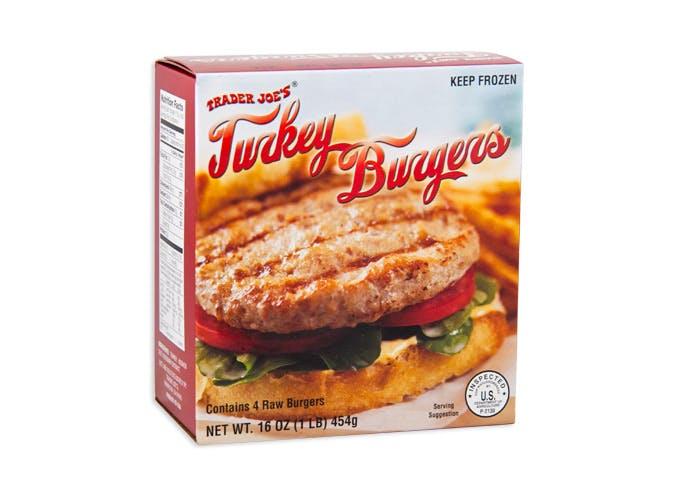 trader joes turkey burgers
