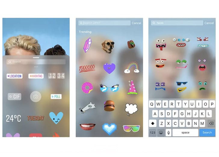 trends gif stickers