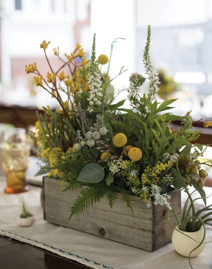 trends herb bouquets