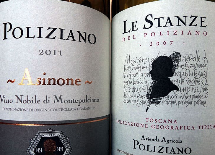two wine labels how to read