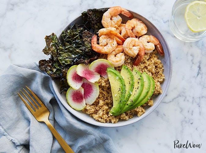 ultimate quinoa avocado bowl