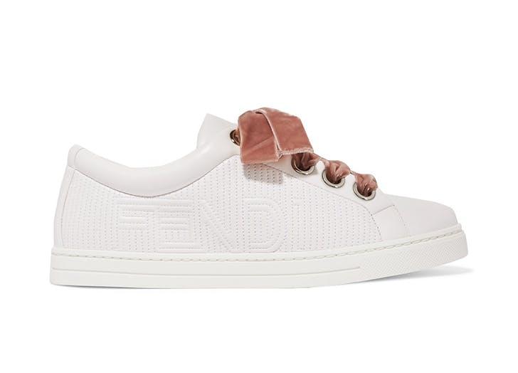 velvet sneakers fendi