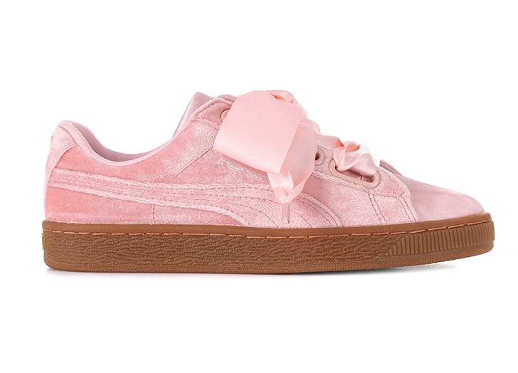velvet sneakers puma