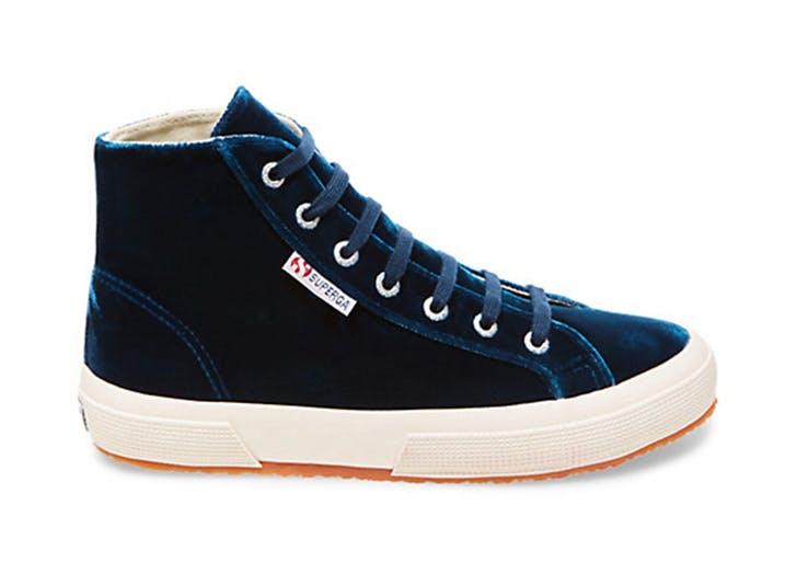 velvet sneakers superga