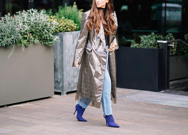 vinyl coat 2018 trends NY