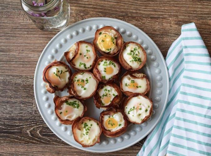whole30 breakfast bacon egg cup recipe
