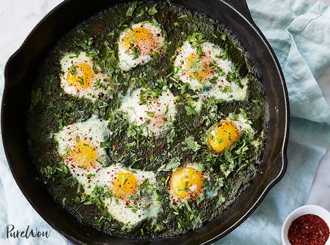 whole30 breakfast green shakshuka recipe