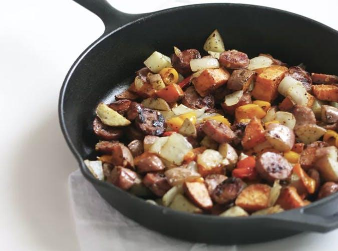 whole30 breakfast skillet roasted veggies recipe