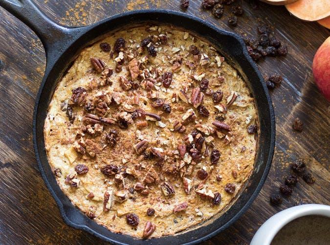 whole30 breakfast sweet potato apple bake recipe