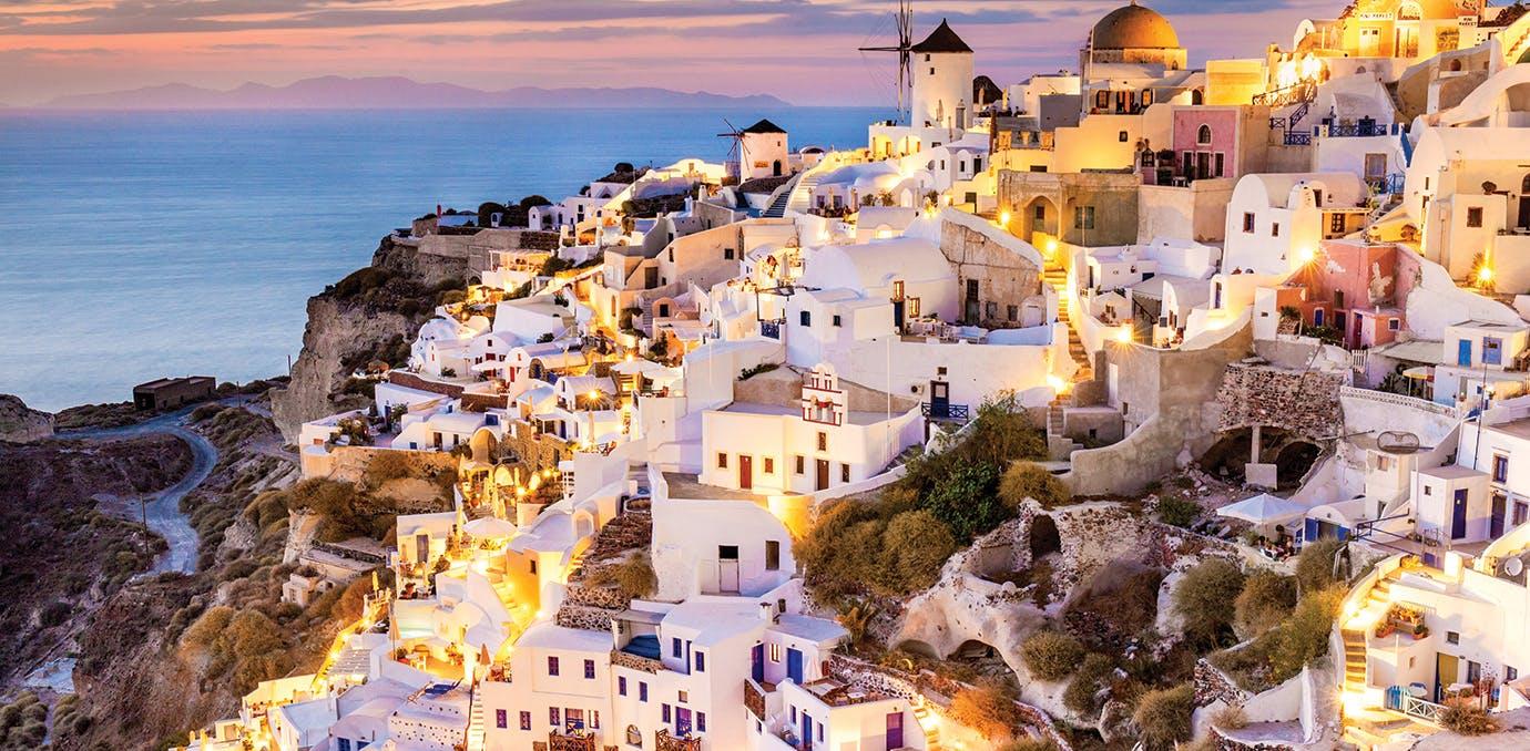 winter honeymoon greece