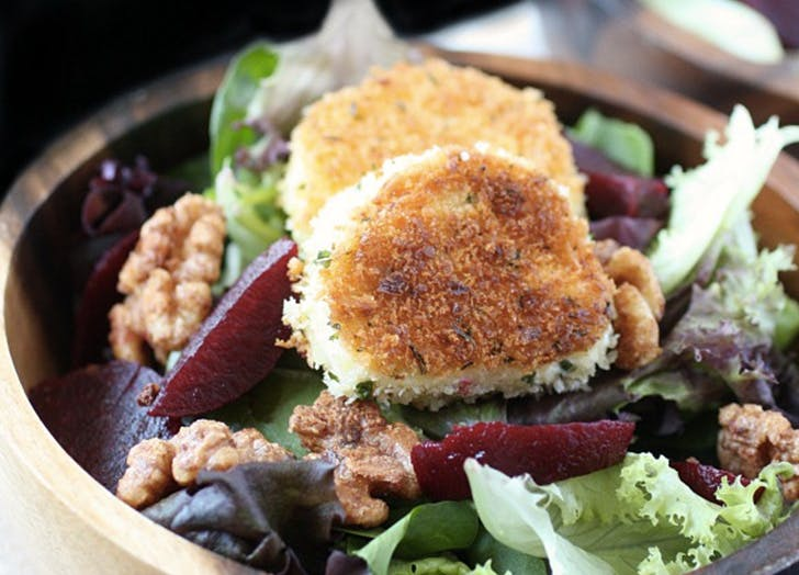 yuppie recipes goat cheese salad