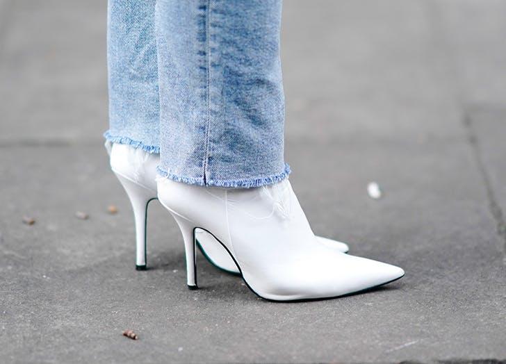 zodiac shoes virgo white