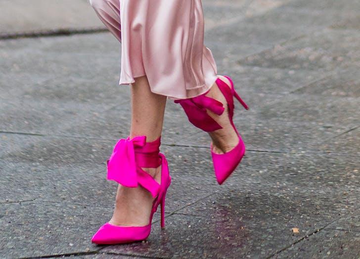 zodiac shoes leo bow